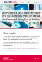 TravelPapa Tips: Save an extra $10 per ticket